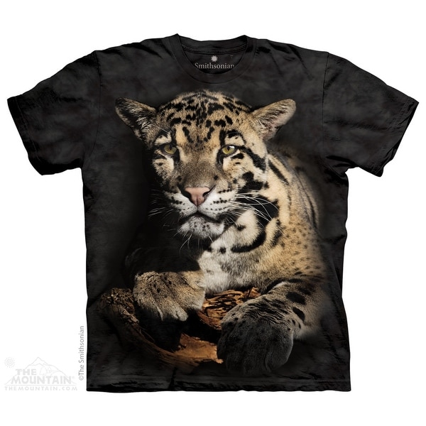 The Mountain Cotton Clouded Leopard Novelty Adult Smithsonian T-Shirt