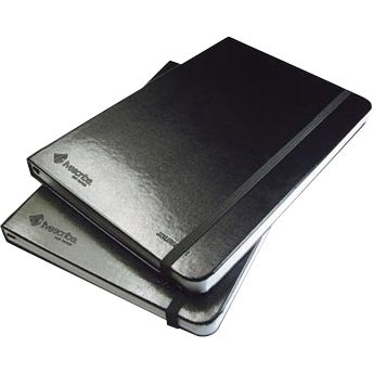 """""""Livescribe ANA-00006 Livescribe Black Unlined Journal - 100 Sheet - Unruled - 5.5"""" x 8.25"""" - 2 / Pack"""""""