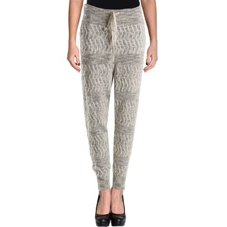Free People Womens Jogger Pants Flat Front Knit