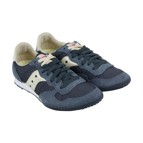 Saucony Bullet Womens Tan Suede Athletic Lace Up Running Shoes