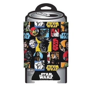 Star Wars Retro Pattern Can Cooler