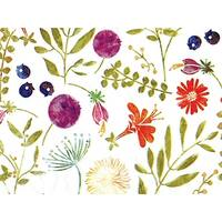 """Pack Of 240, Alpine Meadow Recycled Floral Tissue Prints Paper 20"""" X 30"""" Sheets Made In Usa"""
