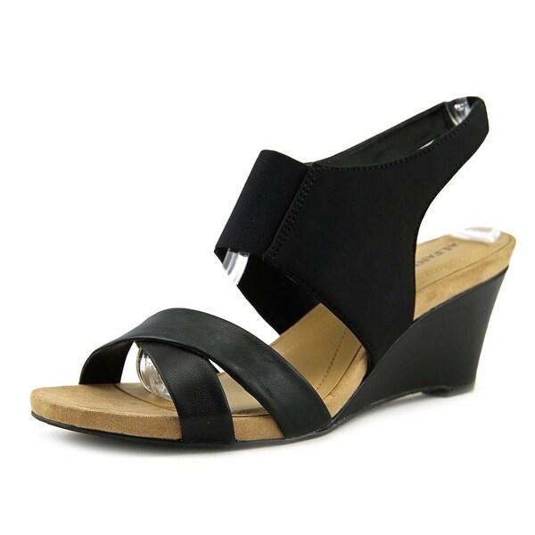 Alfani Monah Women Black Sandals