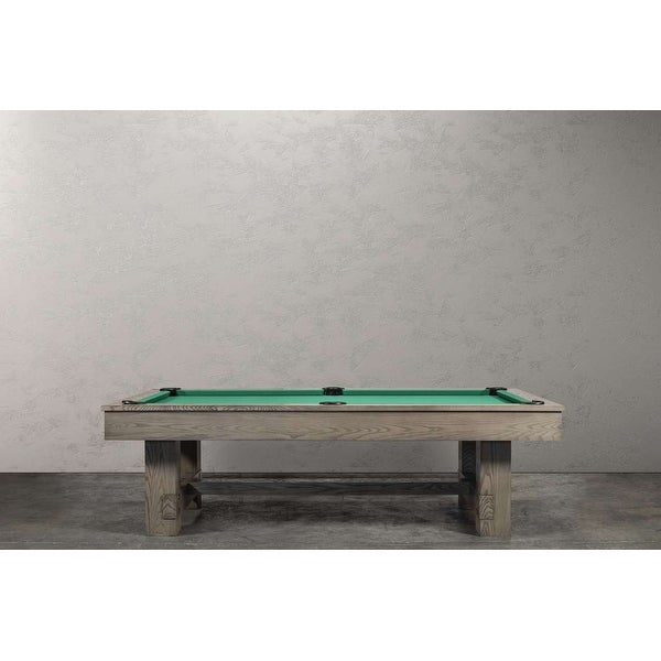 Rocky 8' Slate Pool Table w/Dining Top Option. Opens flyout.