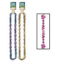 """Club Pack of 36 Assorted Summer Luau """"Aloha"""" Beaded Necklaces 33"""" - Multi"""