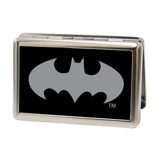 Batman Reverse Brushed Business Card Holder