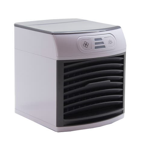 Breezy Arctic Cooler Air Cooler Portable Fan Mini Air Conditioner Cools, Humidifies, & Purifies Instantly