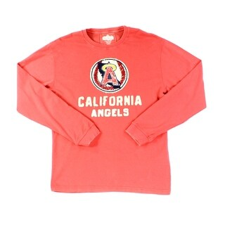 Red Jacket NEW Red Mens Size Large L California Angels MLB Sweater