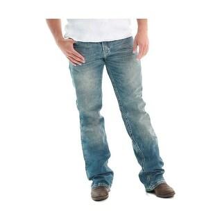 B. Tuff Western Denim Jeans Mens Rush Medium Wash MJRUSH