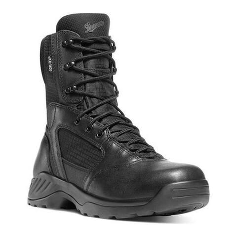 """Danner Men's Kinetic GORE-TEX 8"""" Black Full Grain Leather/Nylon"""