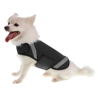 Extreme Neoprene Multi-Purpose Protective Shell Dog Coat, Black, Large