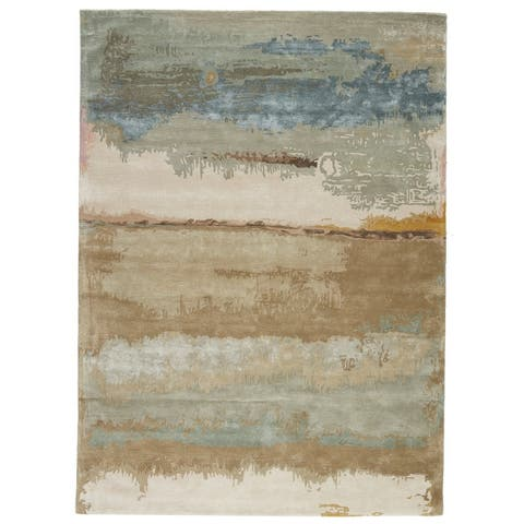 Else Handmade Abstract Area Rug