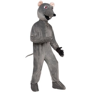 Forum Novelties Rat Mascot Adult Costume - Grey - Standard