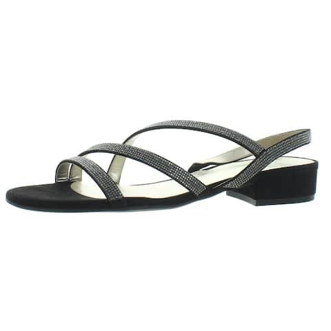 Naturalizer Womens Maya Slingback Sandals Jeweled Open Toe