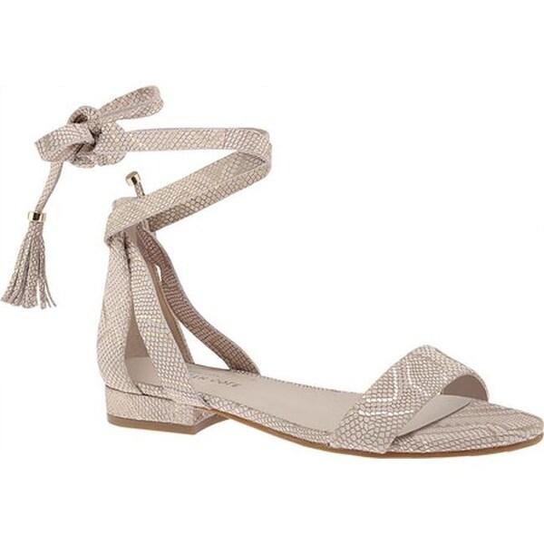 7a3570e6a6dfd Shop Kenneth Cole New York Women's Valen Lace Up Sandal Natural ...