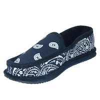 Trooper America Bandana Print Slip On Slipper House Shoe