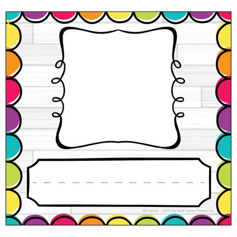 DIY Dots Picture Plates, Pack of 32 - One Size