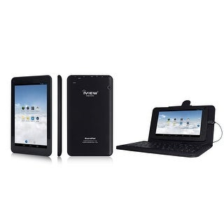 IVIEW-733TPC-K Touch Screen WITH Quad Core Android 4.4 8GB & Keyboard Case