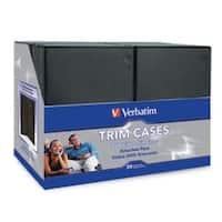 Verbatim CD/DVD, 95094, Black Video Trimcases, 50PK