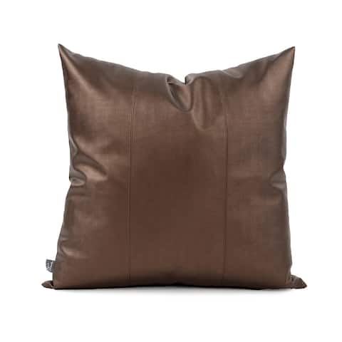 "24"" x 24"" Luxe Bronze Pillow"