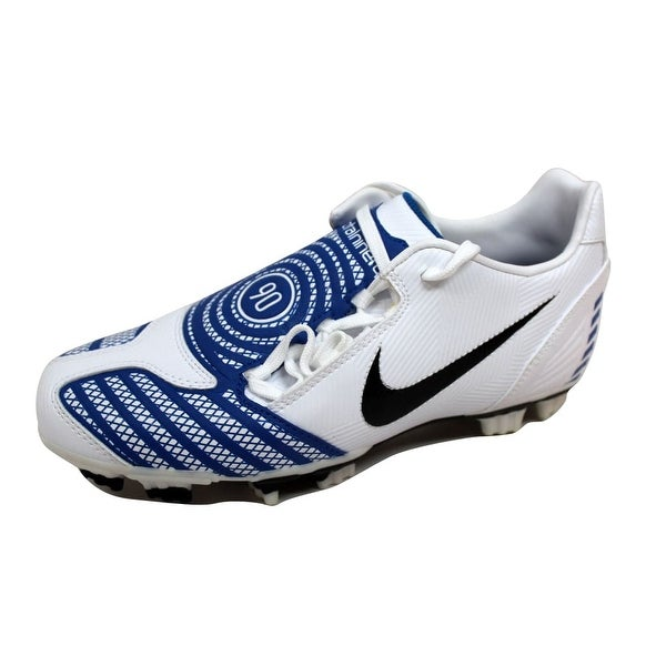 Nike Men's Total90 Shoot II 2 F White/Black-Blue Sapphire 318887-104 Size 6.5