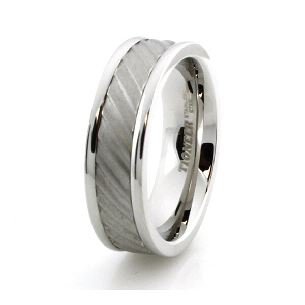 Grooved Stainless Steel Ring