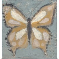 Cassandra Cushman Poster Print entitled Butterfly II - multi-color
