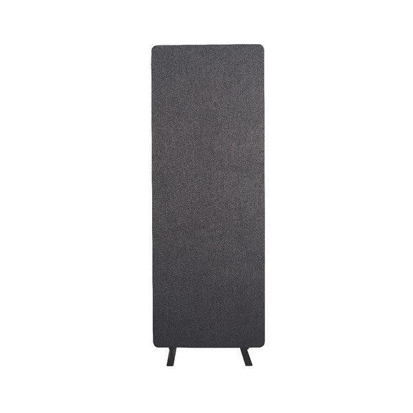 Offex Wall Partition Privacy Screen Freestanding Acoustic Room Divider, Single Panel for Office, Classroom - Slate Gray