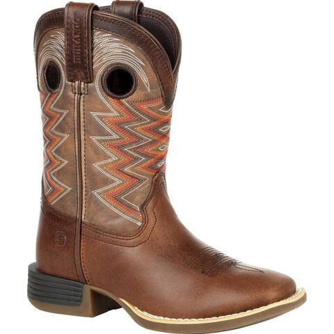 #DBT0226Y, Durango® Lil' Rebel Pro Big Kid's Tiger Eye Western Boot