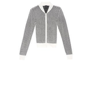 Bobeau Sweater Bomber Jacket