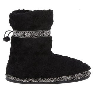 Woolrich Womens Whitecap bootie Slippers Size 6-10 - Black