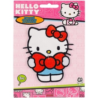 C&D Visionary Hello Kitty Patch-Hello Kitty Bow