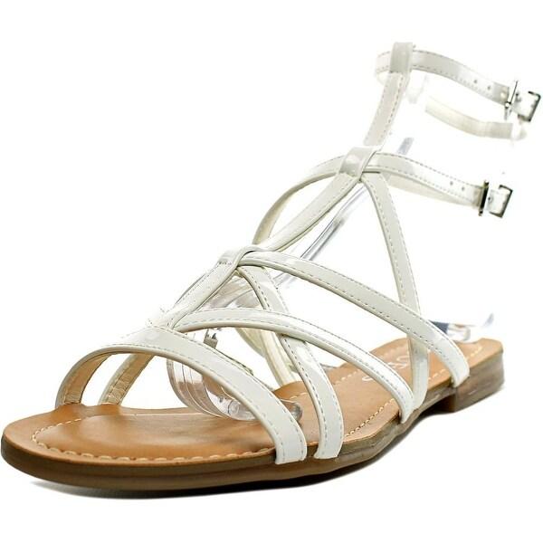 Guess Mannie Women White Sandals