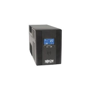 tripp lite QU5209B Tripp Lite SMART1300LCDT 1300VA 720W UPS Smart LCD Battery Back Up Tower AVR 120V USB Coax RJ45