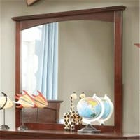 Furniture Of America IDF-7909CH-M Colin Cherry Transitional Mirror
