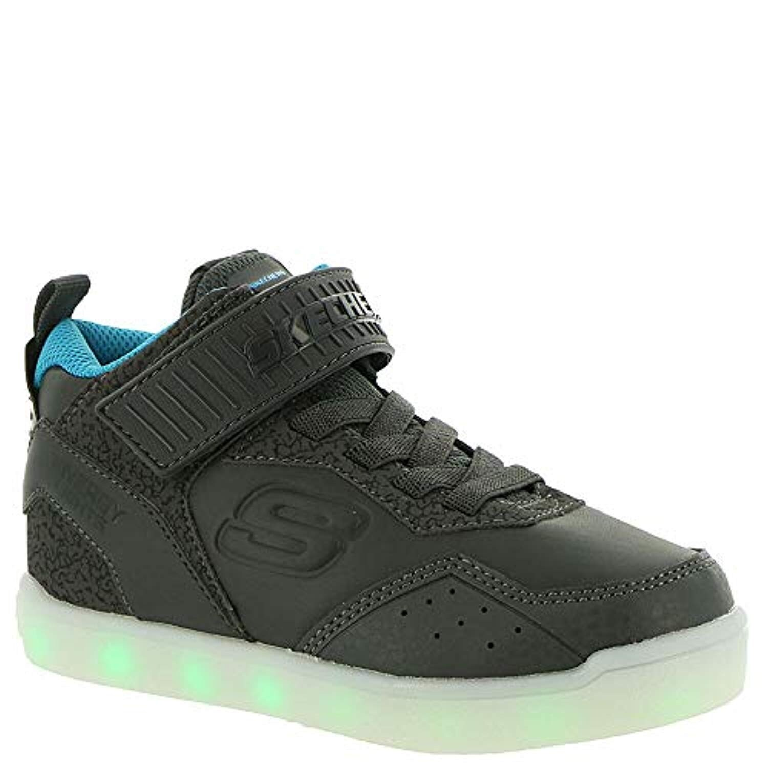 Skechers Energy Lights E Pro Boys' Toddler Youth Oxford 6 M Us Big Kid Charcoal Blue