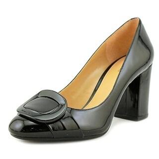 MICHAEL Michael Kors Womens Pauline Closed Toe Leather Closed Toe Ballet Flats