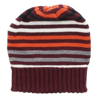 Missoni Maroone Knitted Beanie Wool Blend Hat