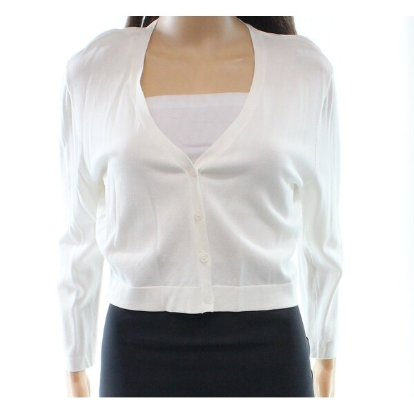 Lauren Ralph Lauren NEW White Ivory Women's Size Large L Shrug ...
