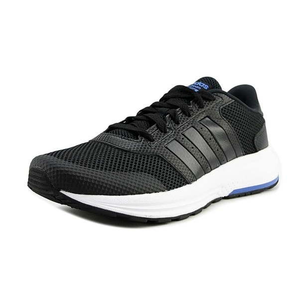 Adidas Cloudfoam Saturn Men Round Toe Synthetic Black Running Shoe