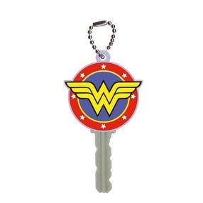 DC Comics Soft Touch Key Cover Wonder Woman Logo - Red
