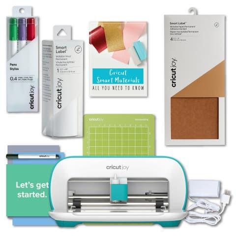 Cricut Joy Machine - Portable Diy Decal And Custom Smart Label Maker Bundle