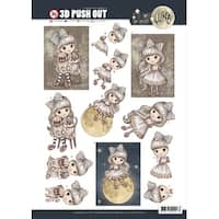 Find It Trading Lilly Luna Punchout Sheet-A Friend To Hold
