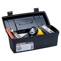 Flambeau Hardware 14 Brute Tool Box With Lift-Out Tray-Blk - 6587FH