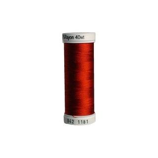 942 1181 Sulky Rayon Thread 40wt 250yd Rust