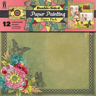 """Hot Off The Press Double-Sided Paper Pack 12""""X12"""" 12/Pkg-Paper Painting"""