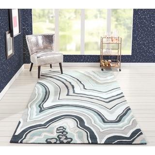 Novogratz By Momeni Delmar Agate Hand Tufted Wool Area Rug Overstock 15384503