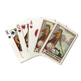 L'Indochine Francaise tonkin Baie d'Along (artist: Jos Henri Ponchin c. 1931) - Vintage Ad (Poker Playing Cards Deck)