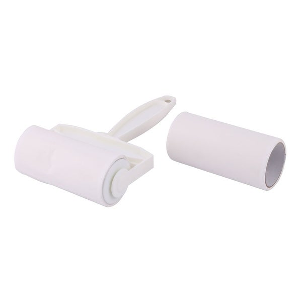 shop unique bargains manual clothes dust clean remover roll plastic