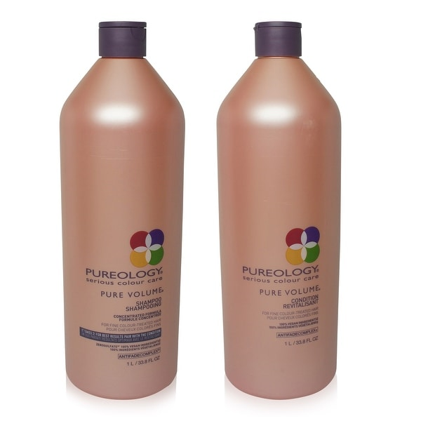 Pureology Pure Volume Shampoo & Conditioner 33.8 fl Oz Combo Pack